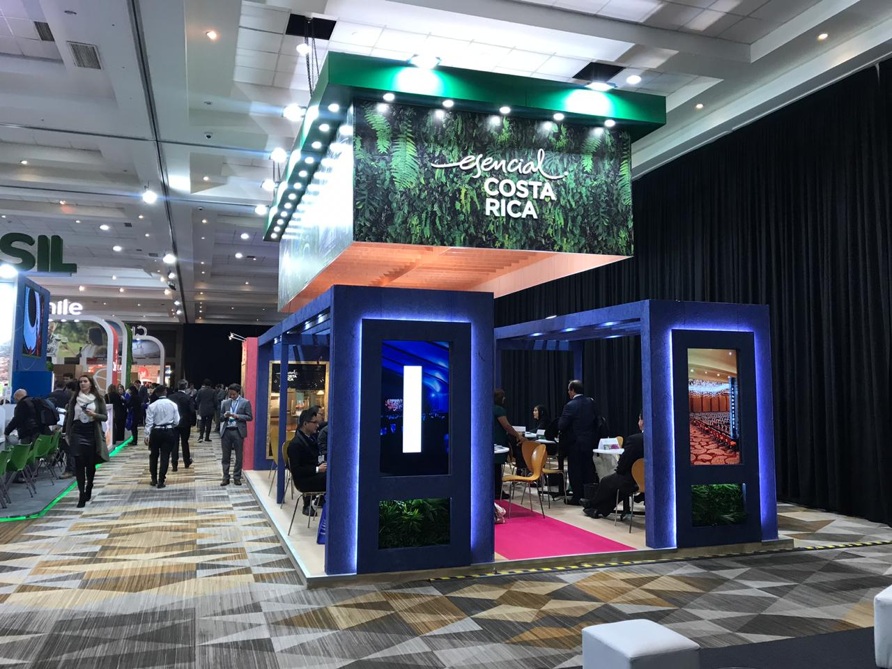 Costa Rica ratified its positioning at the 2019 FIEXPO business tourism segment