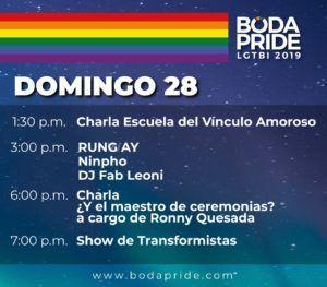 Por primera vez en Costa Rica se organiza una feria de bodas  para personas del mismo sexo 3