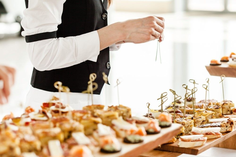 Food recommendations according to your event