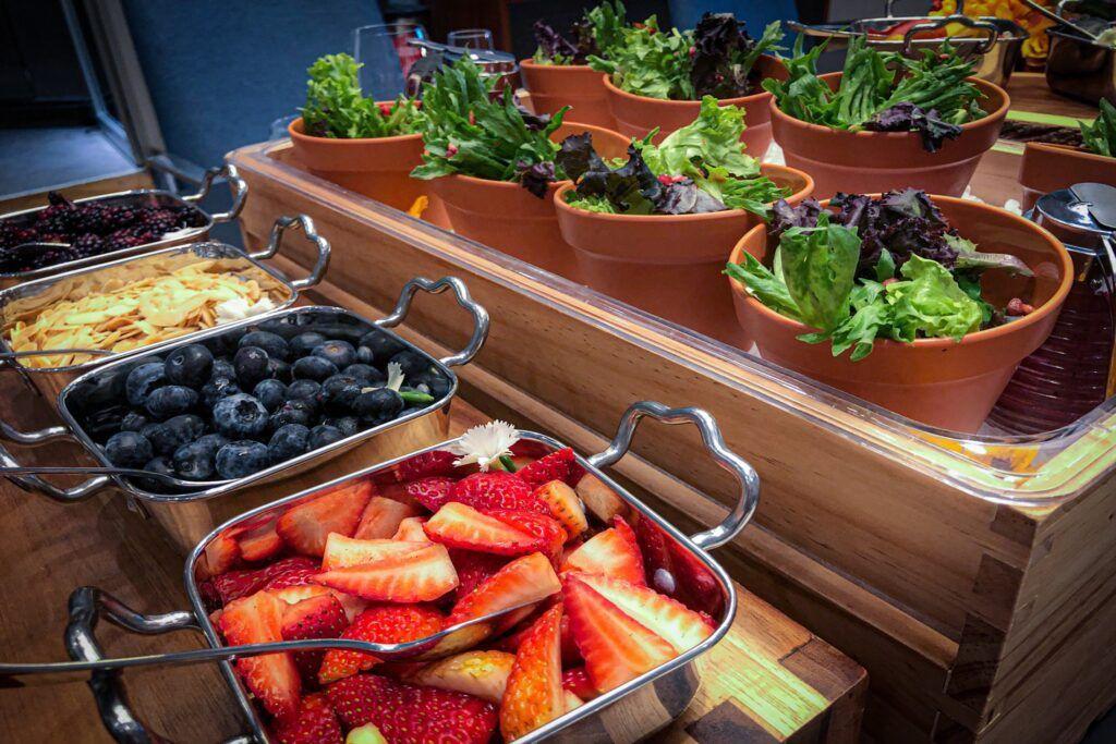 buffete de frutas
