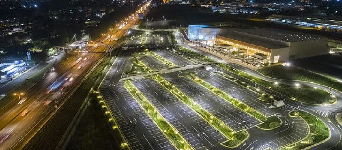estacionamiento vista exterior