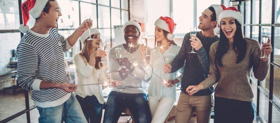 reunión de navidad