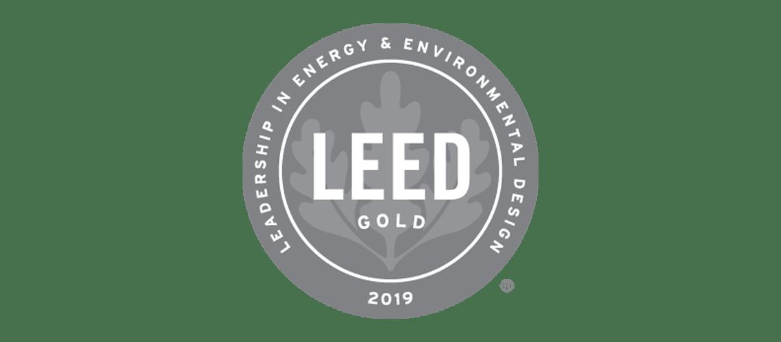 LEED gold logo